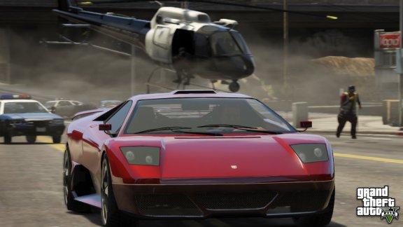 Grand Theft Auto V -peli, Xbox 360, kuva 2