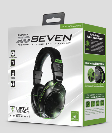 Turtle Beach Ear Force XO SEVEN -kuulokemikrofoni, kuva 3
