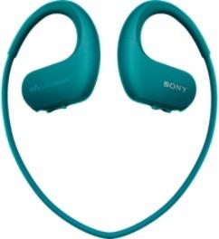 Sony Walkman NW-WS410 4 GB -vedenkestävä MP3-soitin, sinivihreä