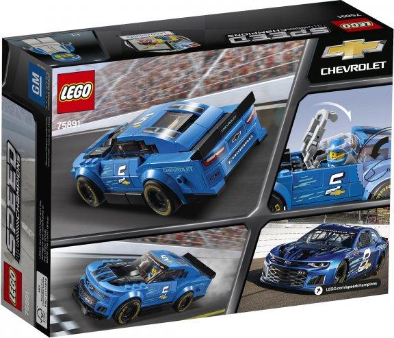 LEGO Speed Champions 75891 - Chevrolet Camaro ZL1 -kilpa-auto, kuva 2