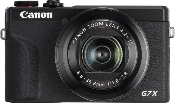 Canon PowerShot G7 X Mark III -digikamera, musta
