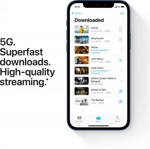 Apple iPhone 12 64 Gt -puhelin, sininen, MGJ83, kuva 5