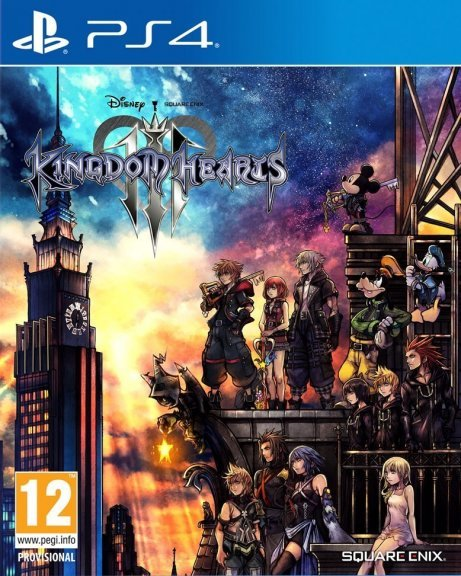 Kingdom Hearts 3 -peli, PS4