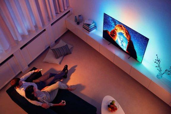 "Philips 55OLED803 55"" Smart Android 4K Ultra HD OLED -televisio, kuva 5"