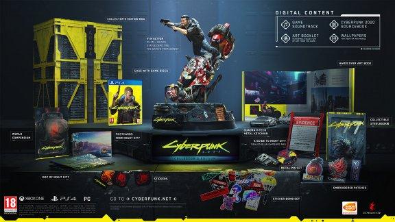 Cyberpunk 2077 - Collector's Edition -peli, PS4
