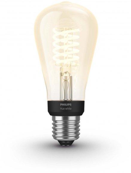 Philips Hue -filamenttiälylamppu, BT, White, Filament Edison, E27, kuva 2