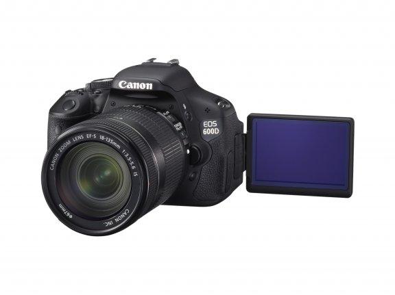 Canon EOS 600D KIT digijärjestelmäkamera + 18-55 IS II objektiivi, kuva 2