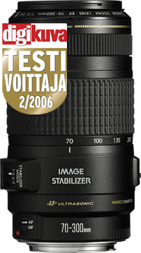 Canon EF 70-300mm f/4-5.6 IS USM zoom-objektiivi