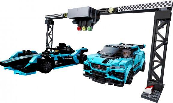 LEGO Speed Champions 76898 - Formula E Panasonic Jaguar Racing GEN2 car & Jaguar I-PACE eTROPHY, kuva 3