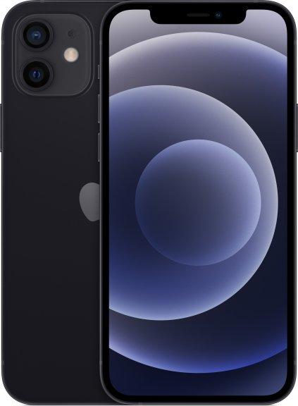 Apple iPhone 12 128 Gt -puhelin, musta, MGJA3, kuva 2