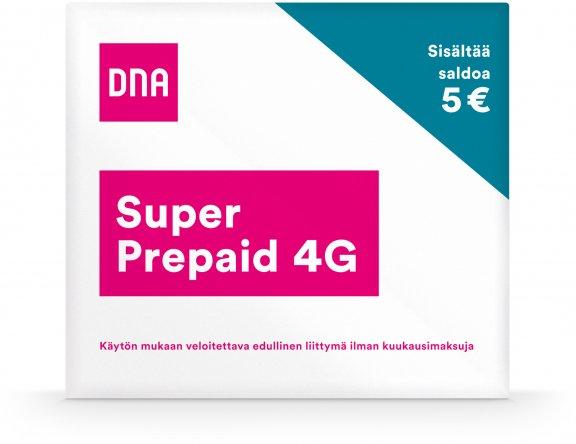 DNA Super Prepaid -aloituspakkaus