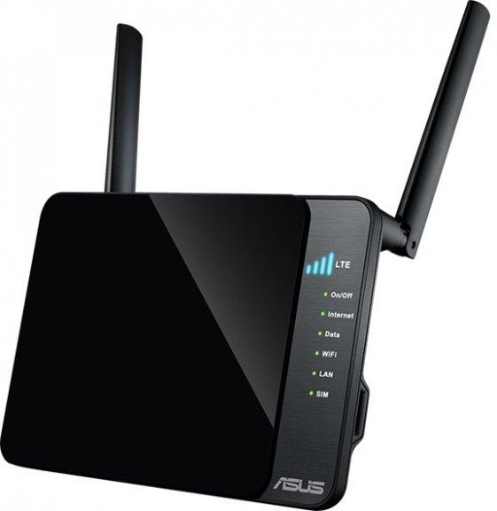 ASUS 4G-N12 -LTE-modeemi ja WiFi-tukiasema