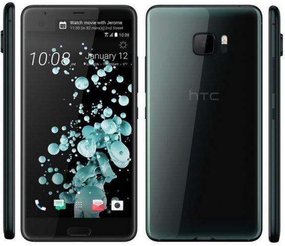 HTC U Ultra -Android-puhelin, 64 Gt, musta