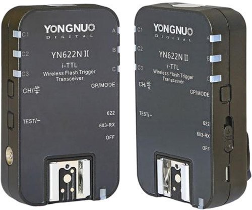 YongNuo YN-622N II TTL-radiolaukaisin, Nikon