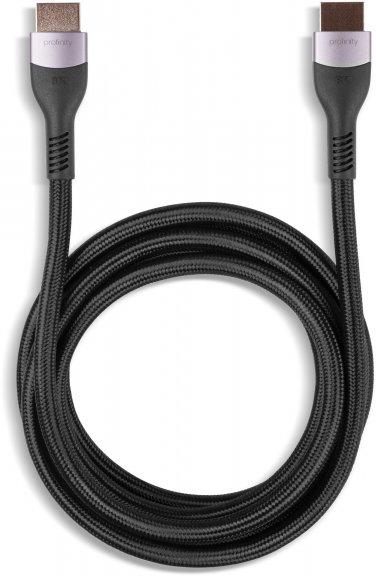 Fuj:tech Profinity 8K HDMI 2.1 Ultra High Speed -kaapeli, 1,8 m, musta