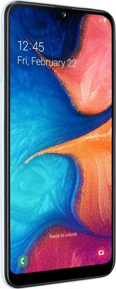 Samsung Galaxy A20e -Android-puhelin, Dual-SIM, 32 Gt, valkoinen, kuva 4