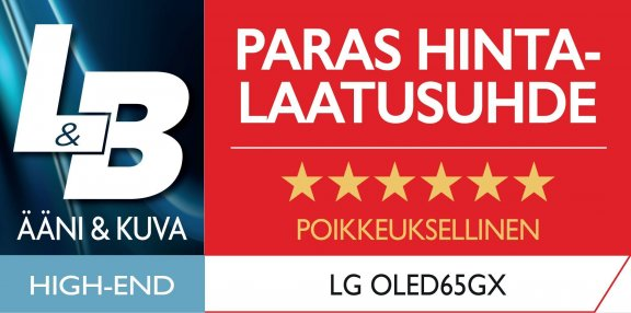"LG OLED65GX 65"" 4K Ultra HD OLED -televisio, kuva 24"