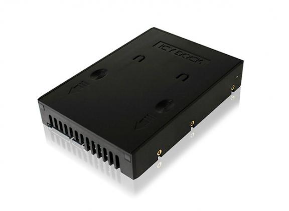 "IcyDock MB882SP-1S-1B 2.5"" - 3.5"" SSD/SATA -adapteri"