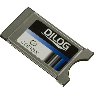 Dilog Conax CA-kortinlukija CI-moduulipaikkaan