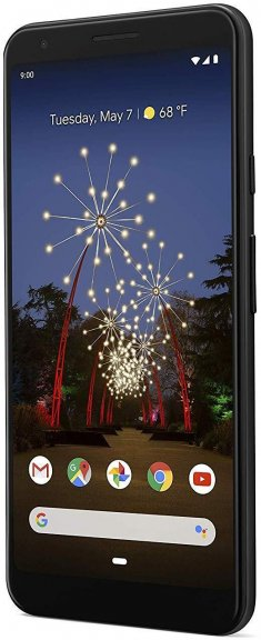 Google Pixel 3a XL -Android-puhelin 64 Gt, musta, kuva 3
