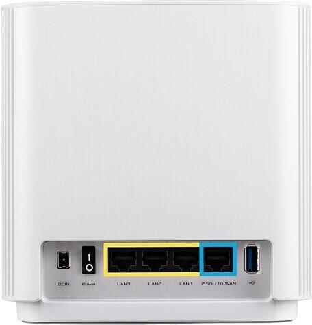 Asus ZenWiFi AX (XT8) Tri-band WiFi -Mesh-reititin, valkoinen, kuva 2