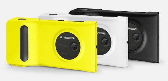 Nokia akkukahva Lumia 1020 puhelimelle, musta, kuva 2