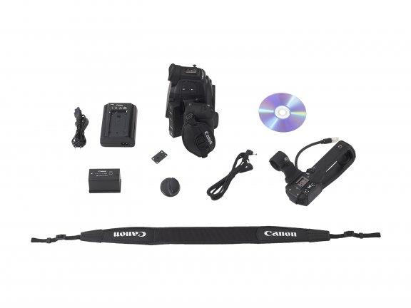 Canon EOS C100 Mark II videokamera, runko, kuva 3