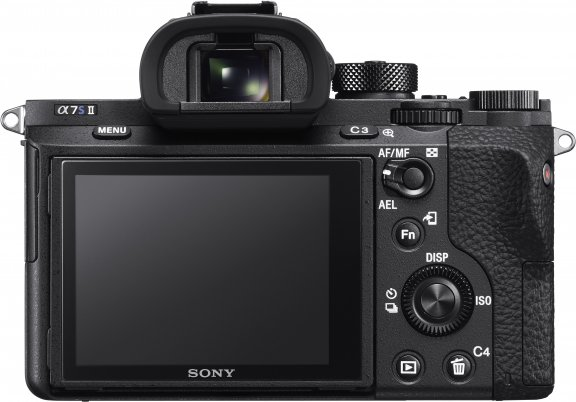 Sony α7s II -mikrojärjestelmäkamera, runko, kuva 3