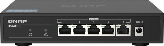 QNAP QSW-1105-5T - 2,5 GbE -5-porttinen kytkin