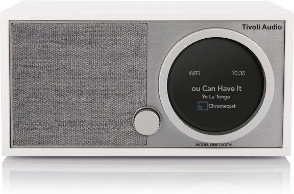 Tivoli Audio Model One Digital Generation 2 -pöytäradio, valkoinen / harmaa