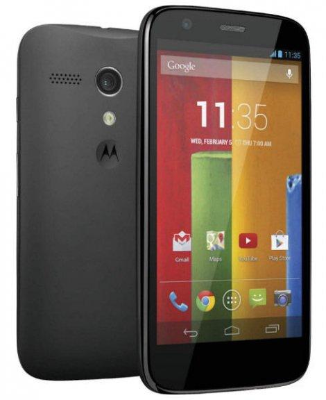 Motorola Moto G Android-puhelin, musta