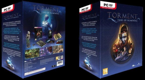 Torment Tides of Numenera - Collector's Edition -peli, PS4, kuva 2