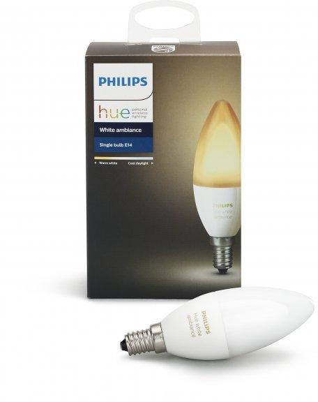 Philips Hue White Ambiance E14 -LED-älylamppu