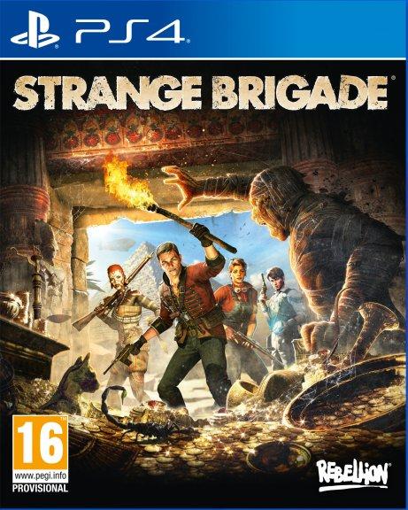 Strange Brigade -peli, PS4