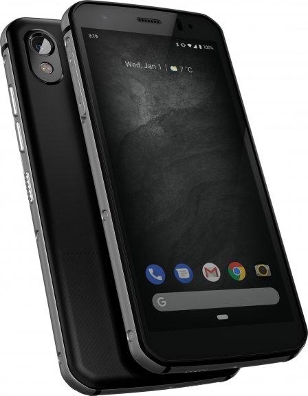 Cat S52 -Android-puhelin Dual-SIM, 64 Gt, musta, kuva 2