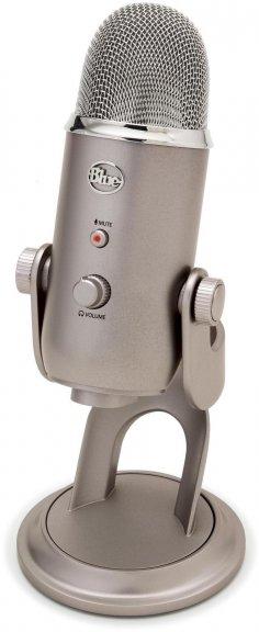 Blue Microphones Yeti -mikrofoni USB-väylään, platina