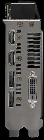 Asus DUAL-RX580-O8G Radeon RX 580 OC 8 Gt -näytönohjain PCI-e-väylään, kuva 4