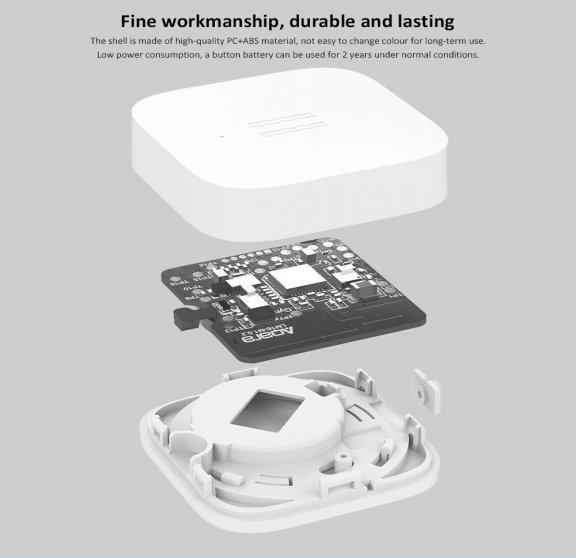 Xiaomi Aqara Vibration Sensor -värinä- ja kallistustunnistin, kuva 6