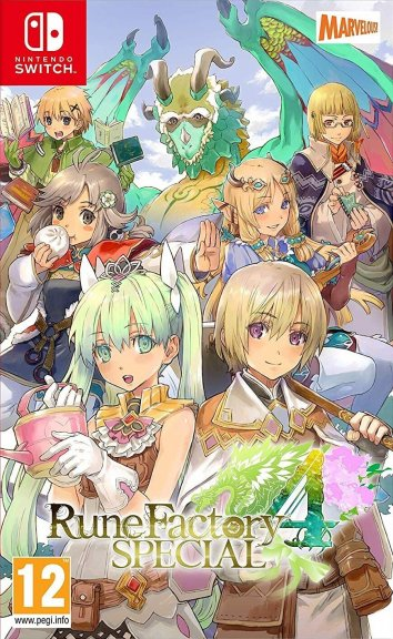 Rune Factory 4 Special -peli, Switch
