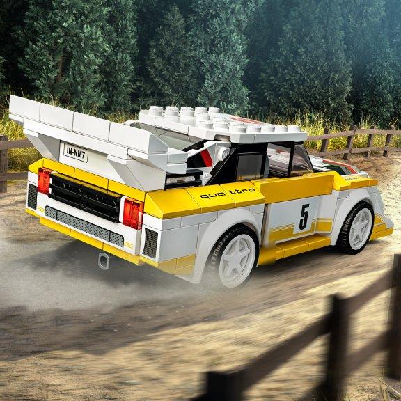 LEGO Speed Champions 76897- 1985 Audi Sport quattro S1, kuva 4