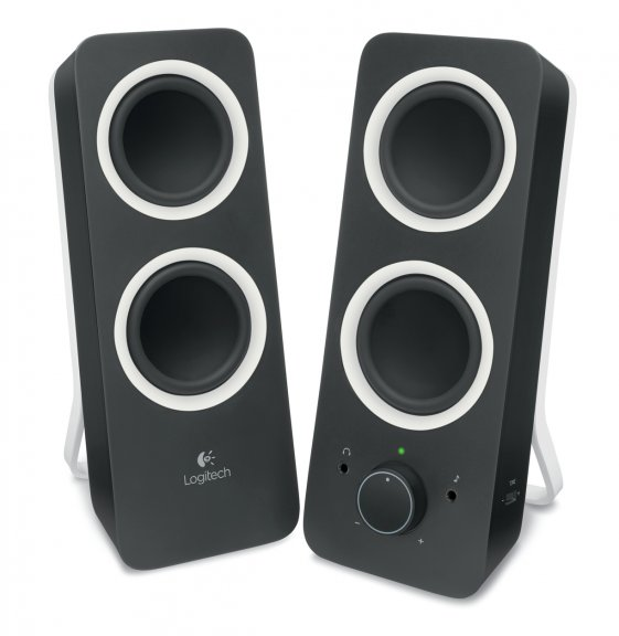 Logitech Z200 -stereokaiuttimet, musta