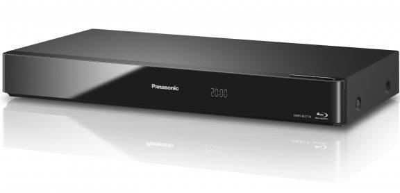Panasonic DIGA DMR-BCT74 4K UHD -skaalaava Blu-ray -soitin ja 500 Gt kaapeli HD-digiboksi
