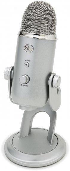 Blue Microphones Yeti -mikrofoni USB-väylään, hopea