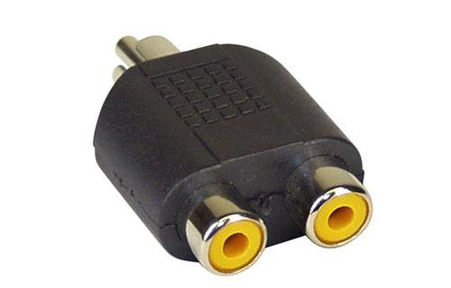 InLine 2 x RCA naaras - RCA uros -adapteri
