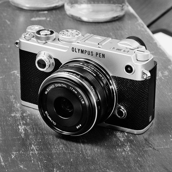 Olympus PEN-F musta, runko, kuva 6