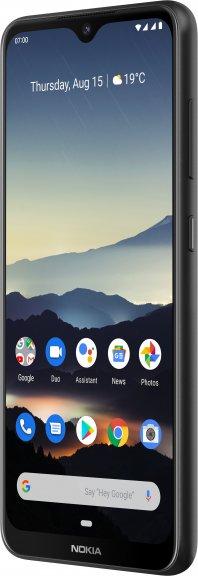 Nokia 7.2 -Android-puhelin Dual-SIM, 128 Gt, musta, kuva 3