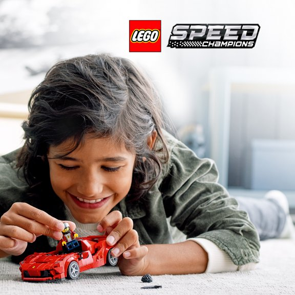 LEGO Speed Champions 76895 - Ferrari F8 Tributo, kuva 7