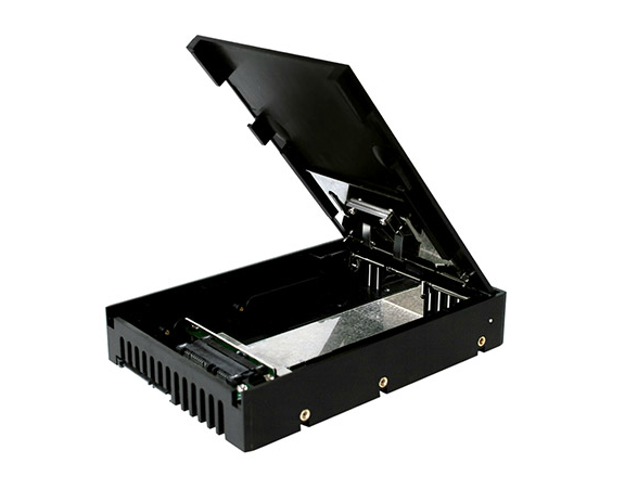 "IcyDock MB882SP-1S-1B 2.5"" - 3.5"" SSD/SATA -adapteri, kuva 2"