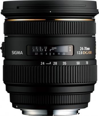 Sigma 24-70 mm f/2.8 EX DG HSM Nikon - zoom objektiivi