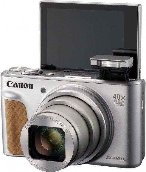 Canon Powershot SX740 HS -digikamera, hopea, kuva 5